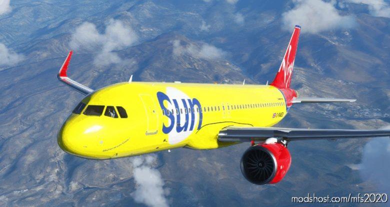 Virgin SUN – A320Neo [8K] for Microsoft Flight Simulator 2020