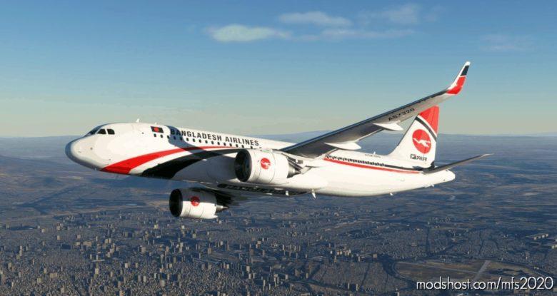 Biman Bangladesh A320 NEO – 8K for Microsoft Flight Simulator 2020