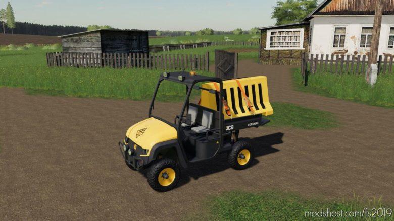 Plastic Road Barrier for Farming Simulator 19