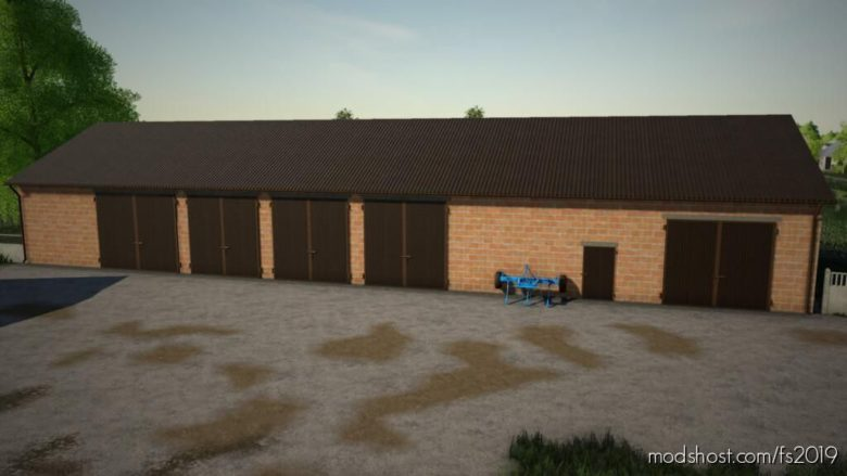 Garage 37 X 12 Meter for Farming Simulator 19