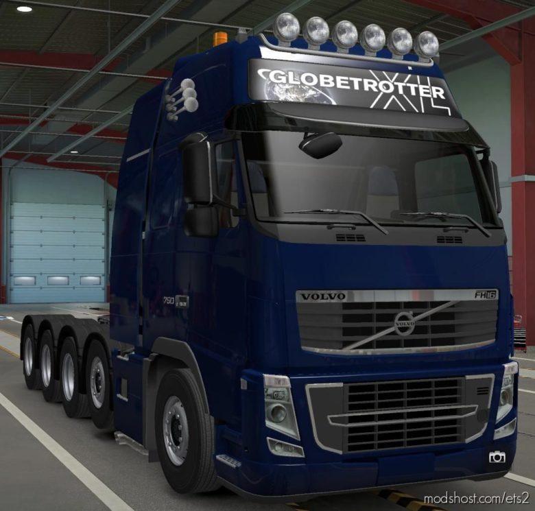 Volvo FH16 2009 Heavy Duty Addon V2.1.0 for Euro Truck Simulator 2