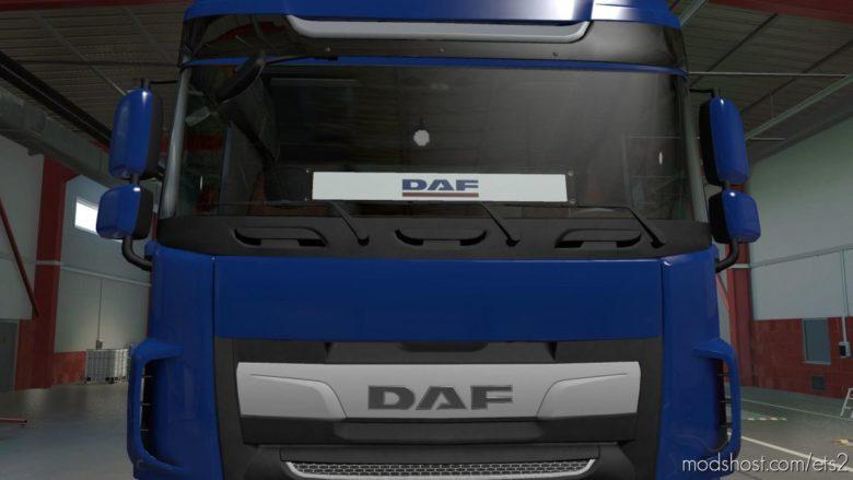 DAF Windshield Table V2.0 for Euro Truck Simulator 2