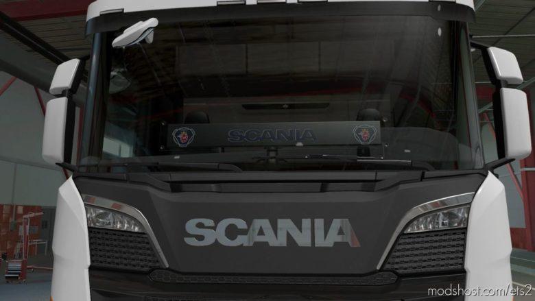 Scania Windshield Table V2.0 for Euro Truck Simulator 2