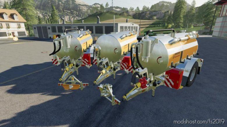 Profi Line Single Axle for Farming Simulator 19