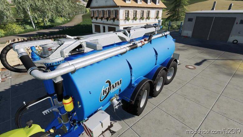 Kumm Slurry Tanker 28M for Farming Simulator 19