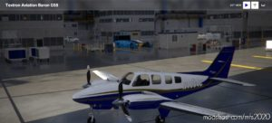 Baron 58 N1064C for Microsoft Flight Simulator 2020