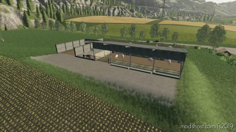 British Animal Husbandry Placeables V1.1 for Farming Simulator 19