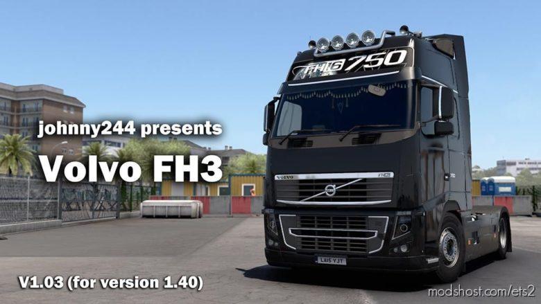 Volvo FH 3RD Generation V1.03 [1.40] for Euro Truck Simulator 2