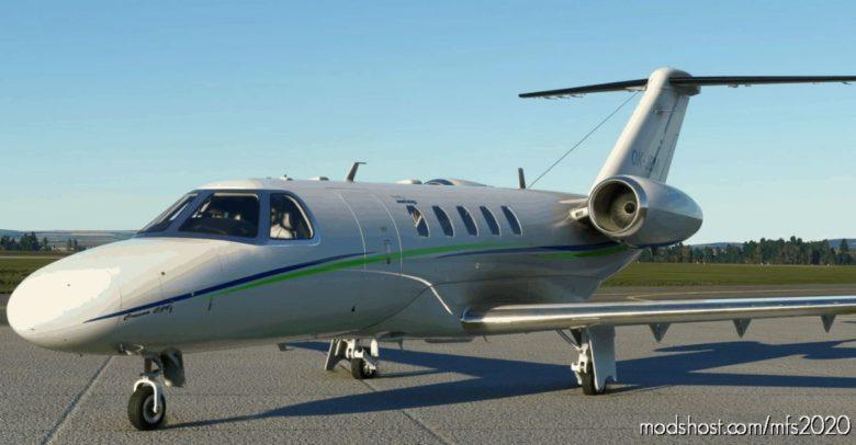 Cessna CJ4 Smartwings (Czech) for Microsoft Flight Simulator 2020