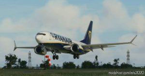 B737-800 MAX Ryanair for Microsoft Flight Simulator 2020