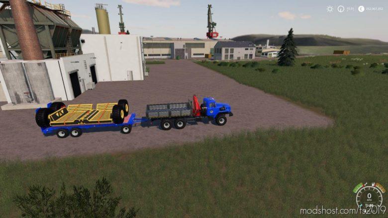Komatsu Mining Pack for Farming Simulator 19