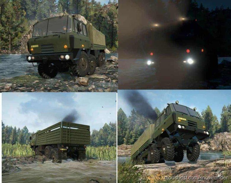 Bratra Truck T815 V for SnowRunner