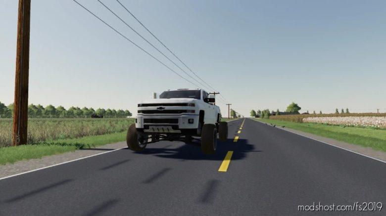 AFM 2016 Chevy 2500HD Duramax for Farming Simulator 19