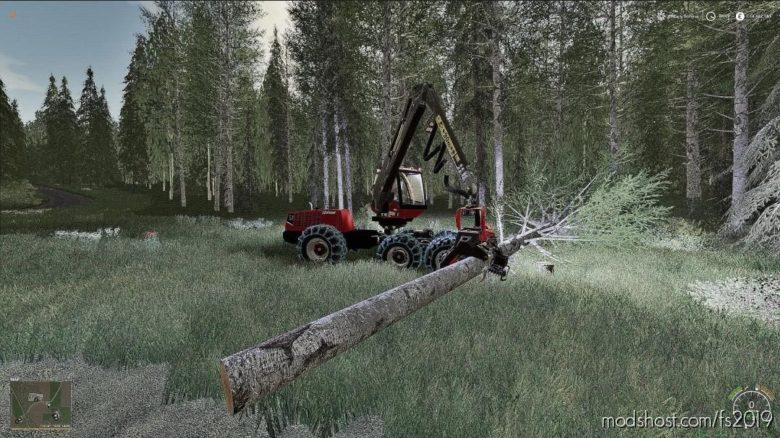 Valmet 931 Harvester for Farming Simulator 19