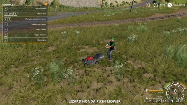 Honda Pushmower for Farming Simulator 19