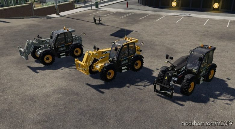 JCB 542 Color Edit for Farming Simulator 19