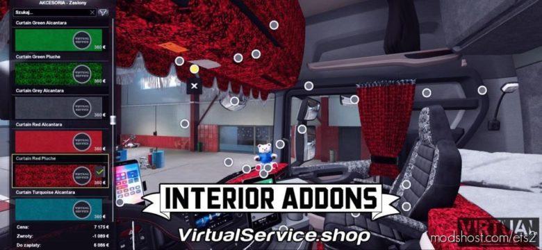 Interior Addons Scania Nextgen (Eugene Only!) [1.39] for Euro Truck Simulator 2