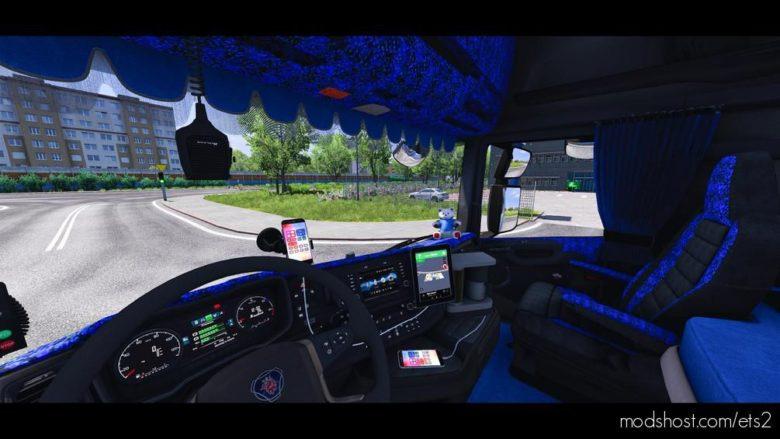 Interior Addons For Scania Nextgen [1.40] for Euro Truck Simulator 2
