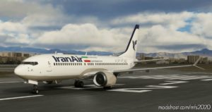 Iran AIR Boeing 737 MAX (5K*10K) for Microsoft Flight Simulator 2020