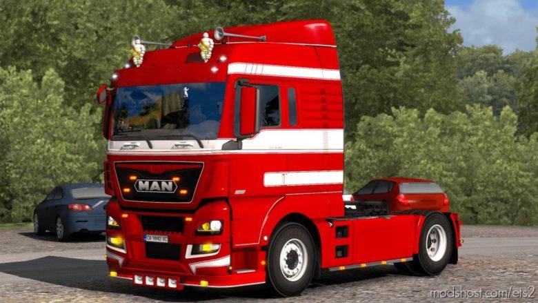 MAN XLX Skin By Kript Paintjob's for Euro Truck Simulator 2