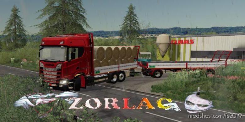 Scania S580TR 6W V2.0 for Farming Simulator 19