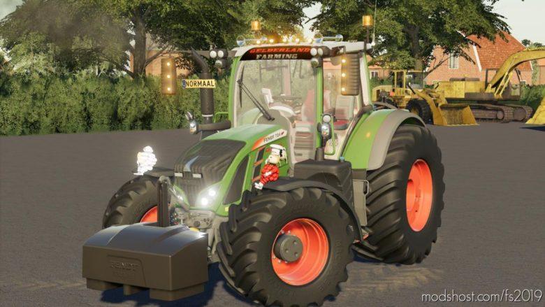 Fendt 700 Vario Gld-Team MET Rook V2.1 for Farming Simulator 19