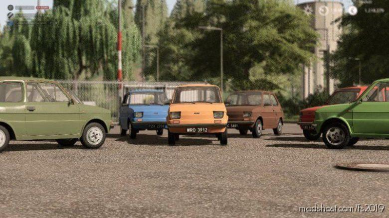 Fiat 126P Pack for Farming Simulator 19