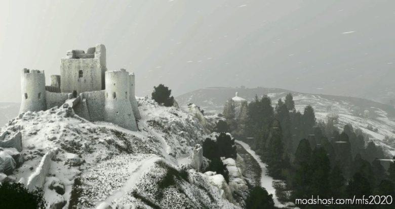Rocca Calascio for Microsoft Flight Simulator 2020