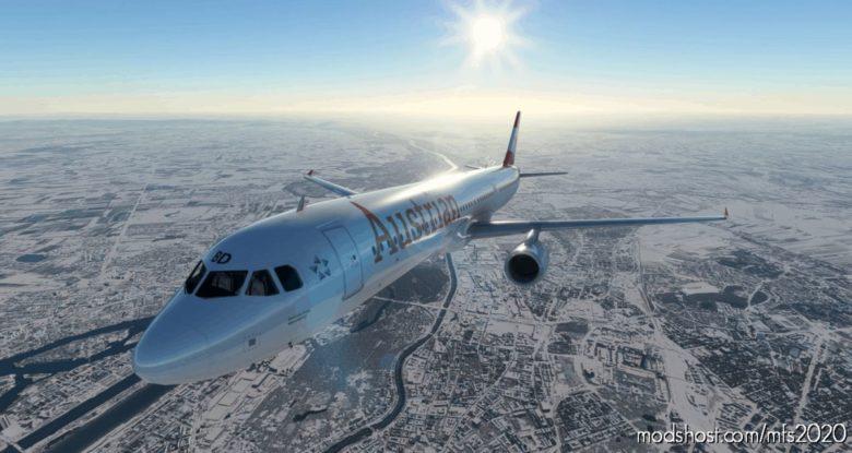 Austrian Airlines Airbus A321 for Microsoft Flight Simulator 2020