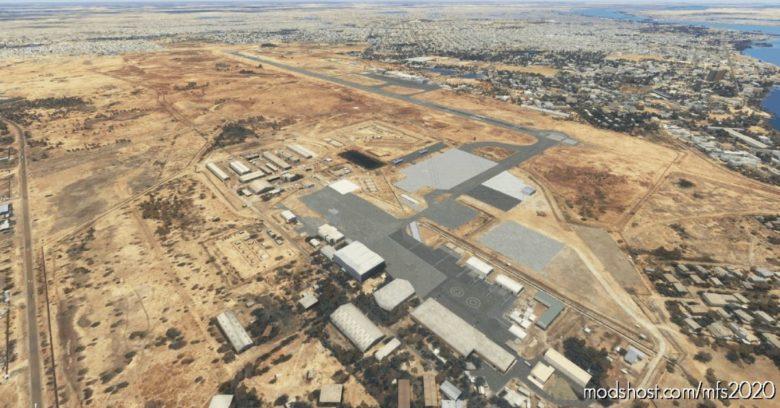 N'Djamena Fttj (Airport & Lights Enhancement) for Microsoft Flight Simulator 2020