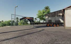 Bigtex Trailer With Tracks for Farming Simulator 19