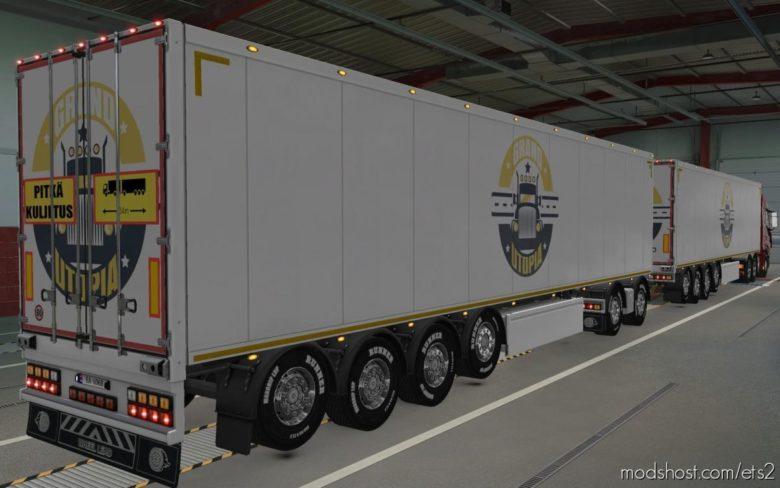 Skin Owned Trailers SCS Grand Utopia Map [1.40] for Euro Truck Simulator 2