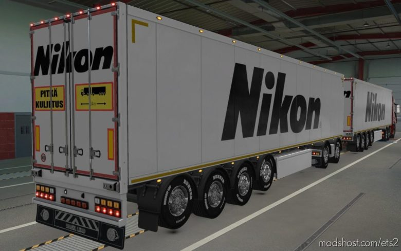Skin Owned Trailers SCS Nikon [1.40] for Euro Truck Simulator 2