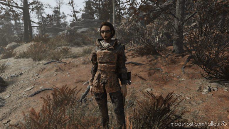 Railroad Coat for Fallout 76
