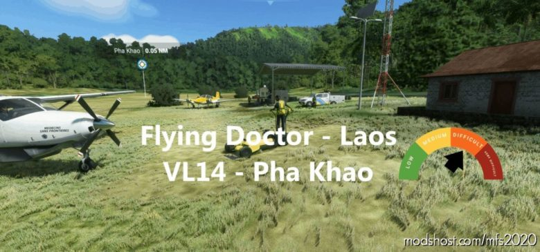 VL14 – PHA Khao – Flying Doctor for Microsoft Flight Simulator 2020