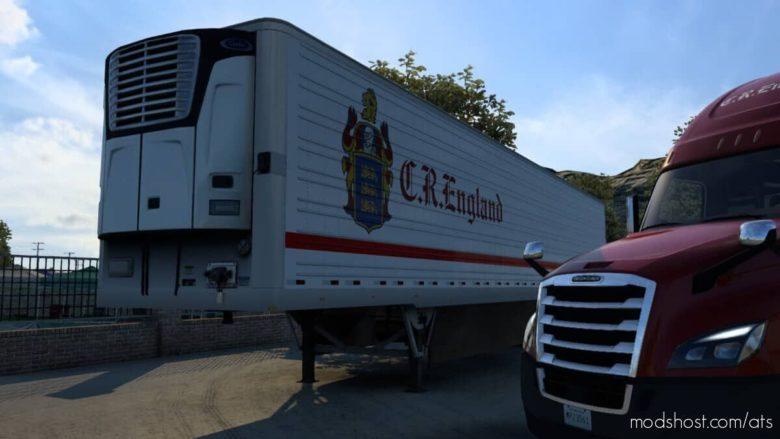 CR England 53FT Trailer Skin for American Truck Simulator