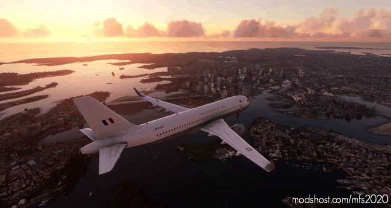 Royal Australian AIR Force (Raaf) A320 Livery V2.0 for Microsoft Flight Simulator 2020