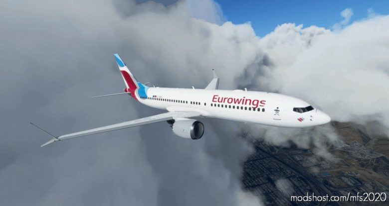 Eurowings Boeing 737 MAX (5K*10K) for Microsoft Flight Simulator 2020