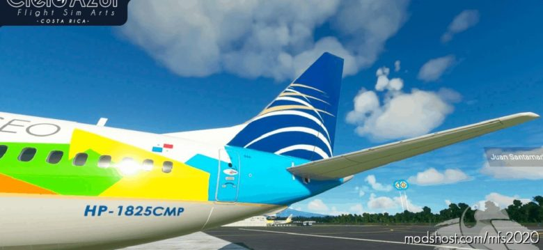 Copa Airlines | Hp-1825Cmp | Bredok3D 737M8 (7.5K) V1.1 for Microsoft Flight Simulator 2020