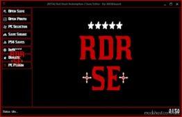 RED Dead Redemption 2 Save Editor V0.1.9.0 Updated for Red Dead Redemption 2