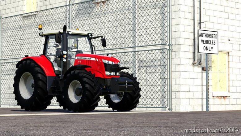 Massey Ferguson 7600 for Farming Simulator 19