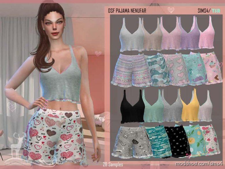 DSF Pajama Nenufar for The Sims 4