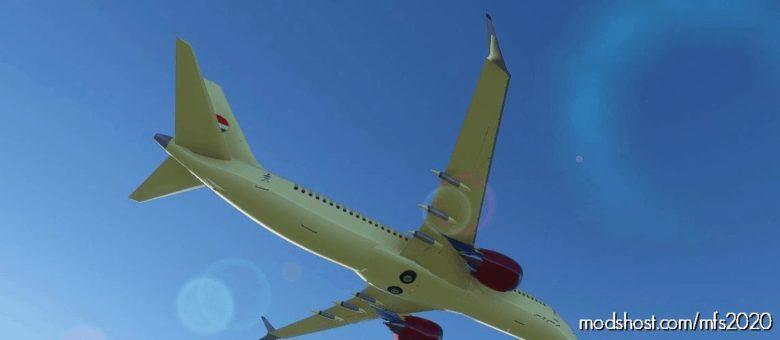 KUR 737 MAX K for Microsoft Flight Simulator 2020