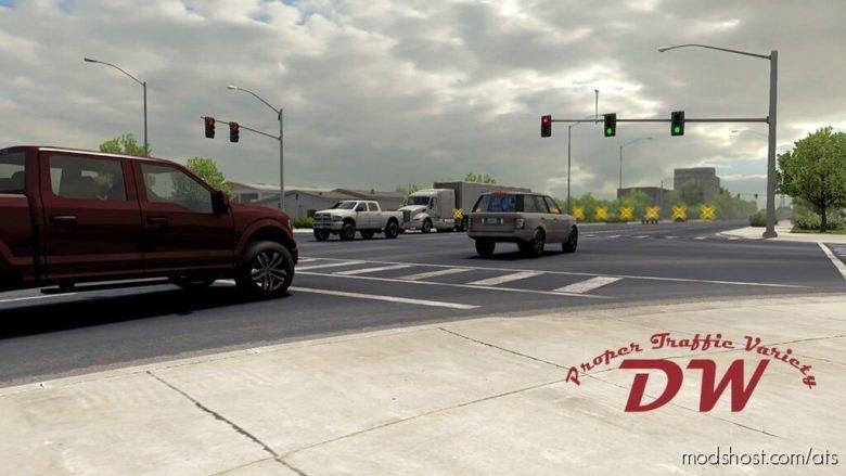 Proper Traffic Variety (1.40, 2/15/21) for American Truck Simulator