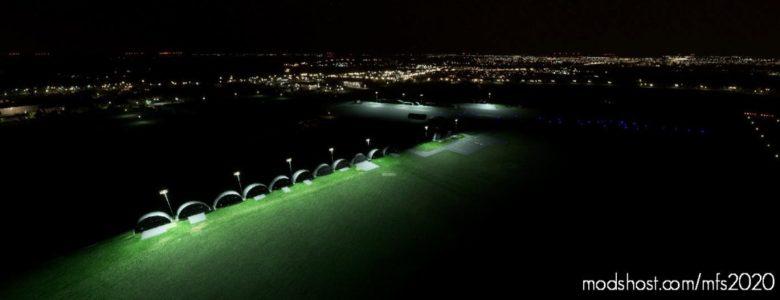 Lfay Amiens – Glisy (Scenery & Lights Improvements) for Microsoft Flight Simulator 2020