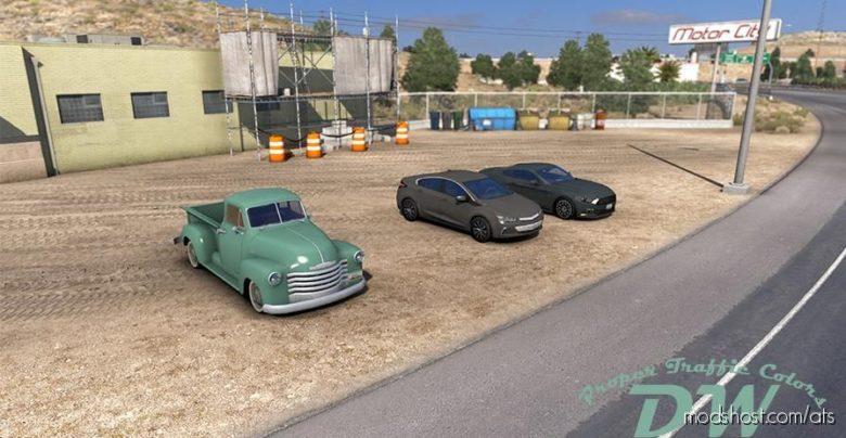 Proper Traffic Colors V17.02.21 [1.40] for American Truck Simulator