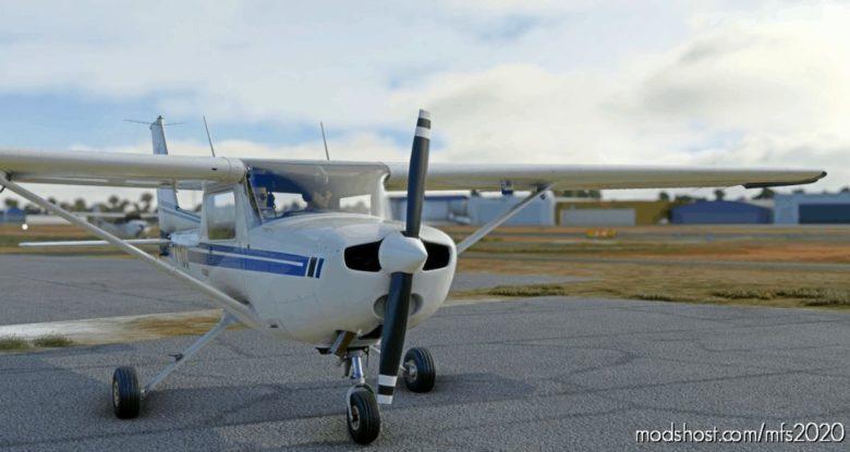 C152 – Aeroclube DE Jundiaí – Pr-Ado Livery 4K for Microsoft Flight Simulator 2020