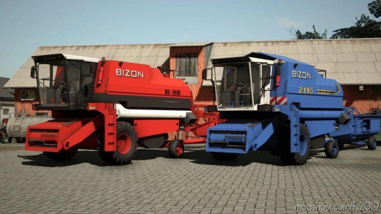 Bizon BS Z110 for Farming Simulator 19