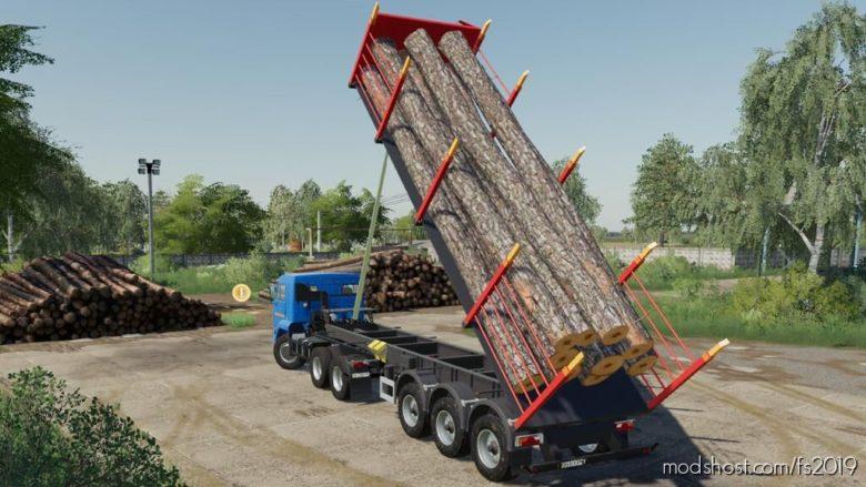 Nefaz 9509 Logging Truck for Farming Simulator 19