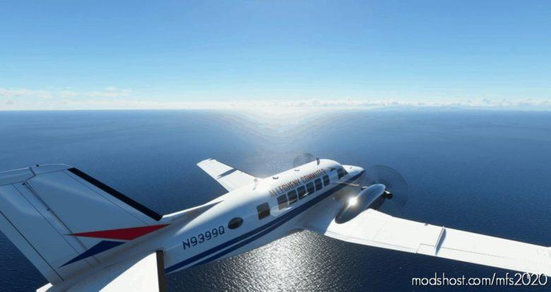 Virtualcol – Beech99 Allegheny Commuter Livery for Microsoft Flight Simulator 2020